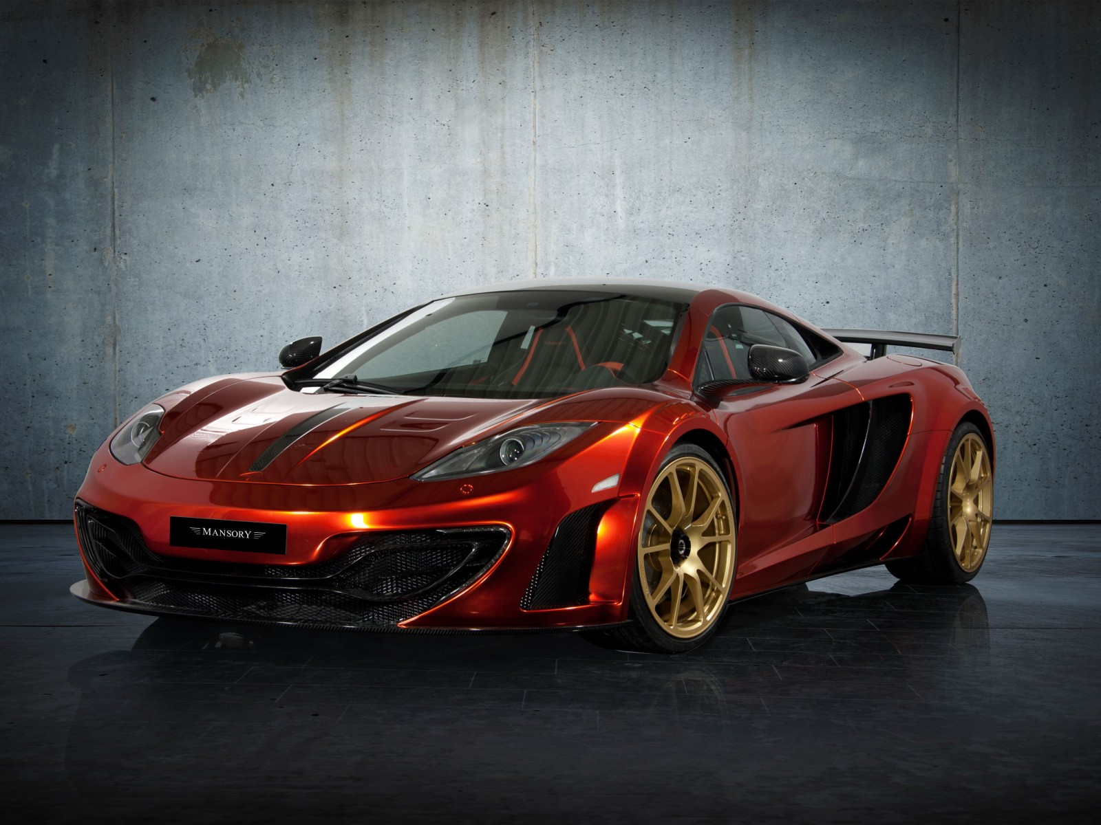 McLaren MP4-12Cf By Mansory Wallpaper for Desktop 1600x1200