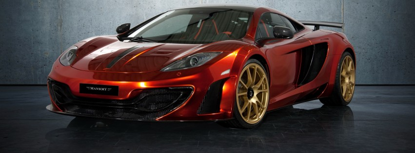 McLaren MP4-12Cf By Mansory Wallpaper for Social Media Facebook Cover