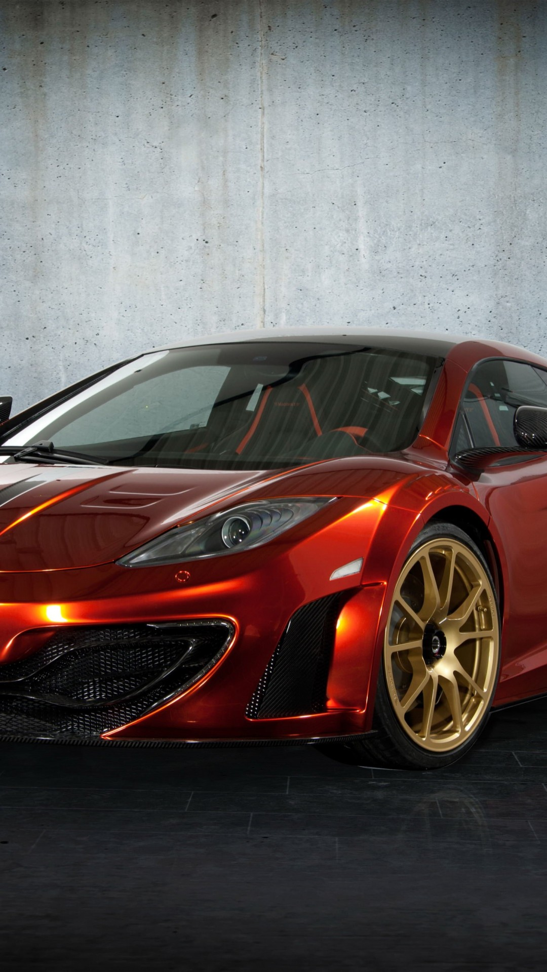 McLaren MP4-12Cf By Mansory Wallpaper for SAMSUNG Galaxy S5