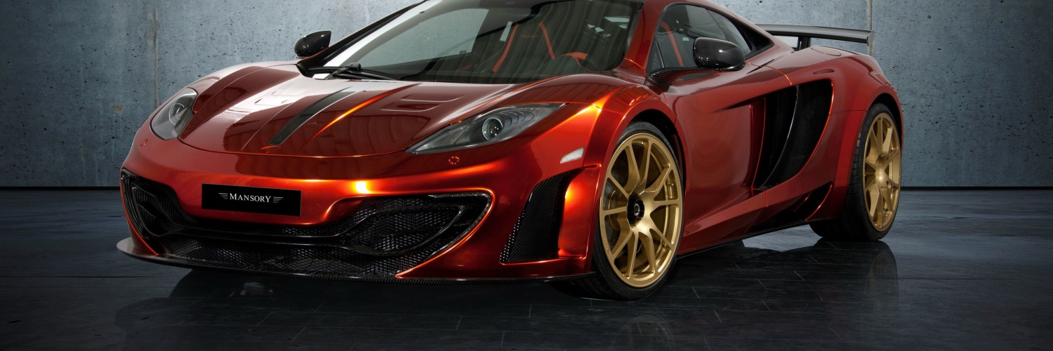 McLaren MP4-12Cf By Mansory Wallpaper for Social Media Twitter Header