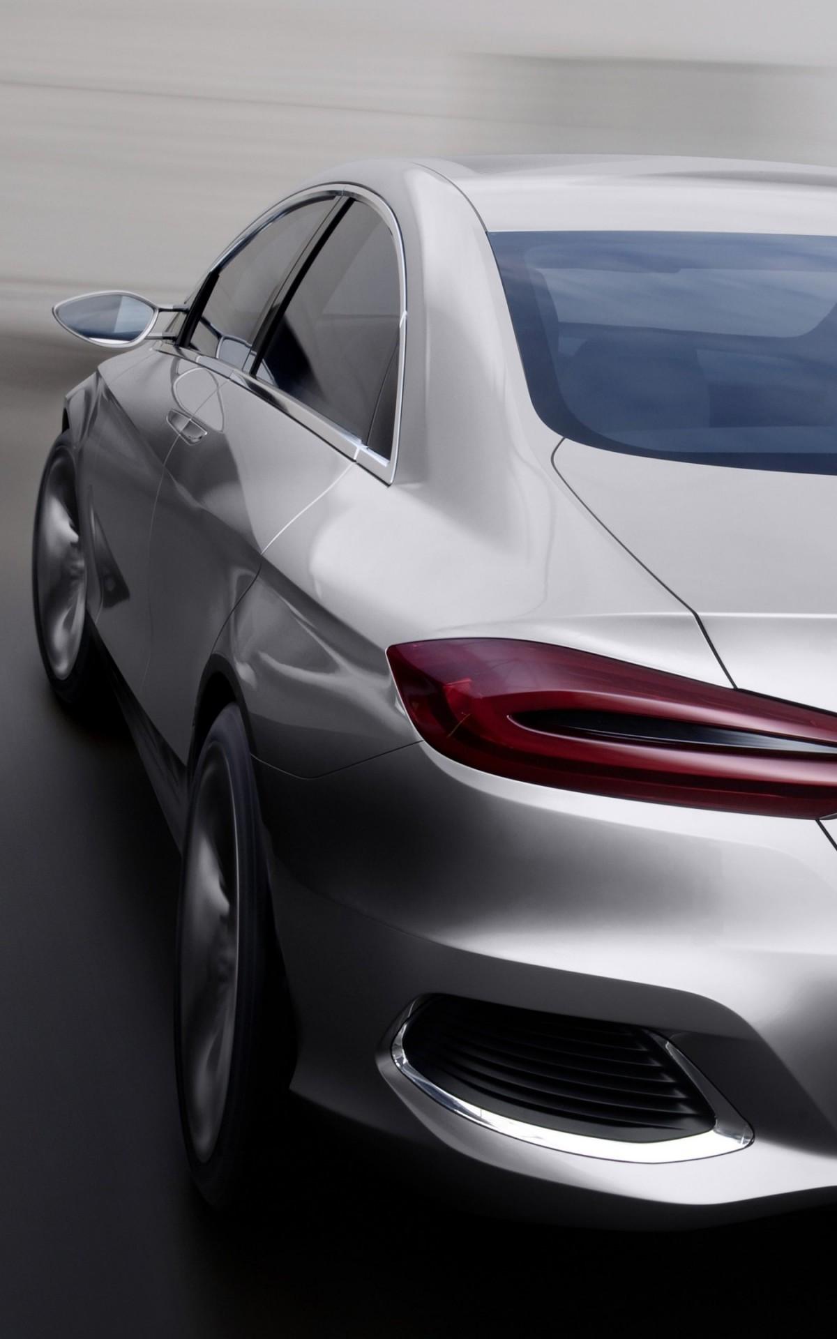 Download Mercedes Benz F800 Concept Rear View Hd Wallpaper