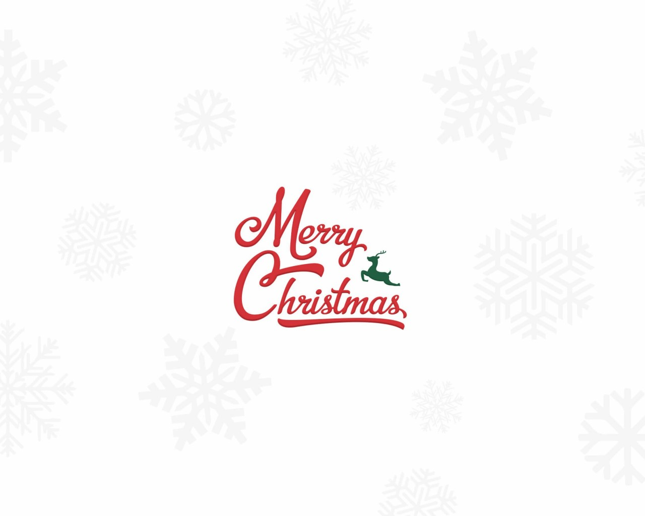 Merry Christmas Wallpaper for Desktop 1280x1024