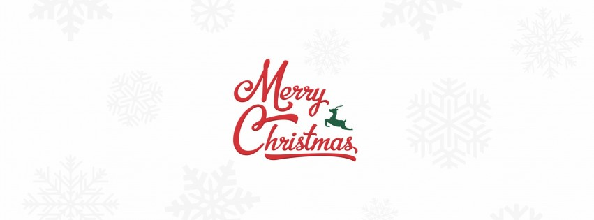 Merry Christmas Wallpaper for Social Media Facebook Cover