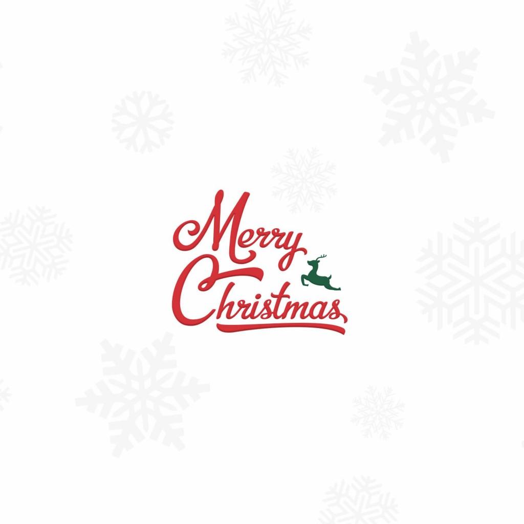 Merry Christmas Wallpaper for Apple iPad