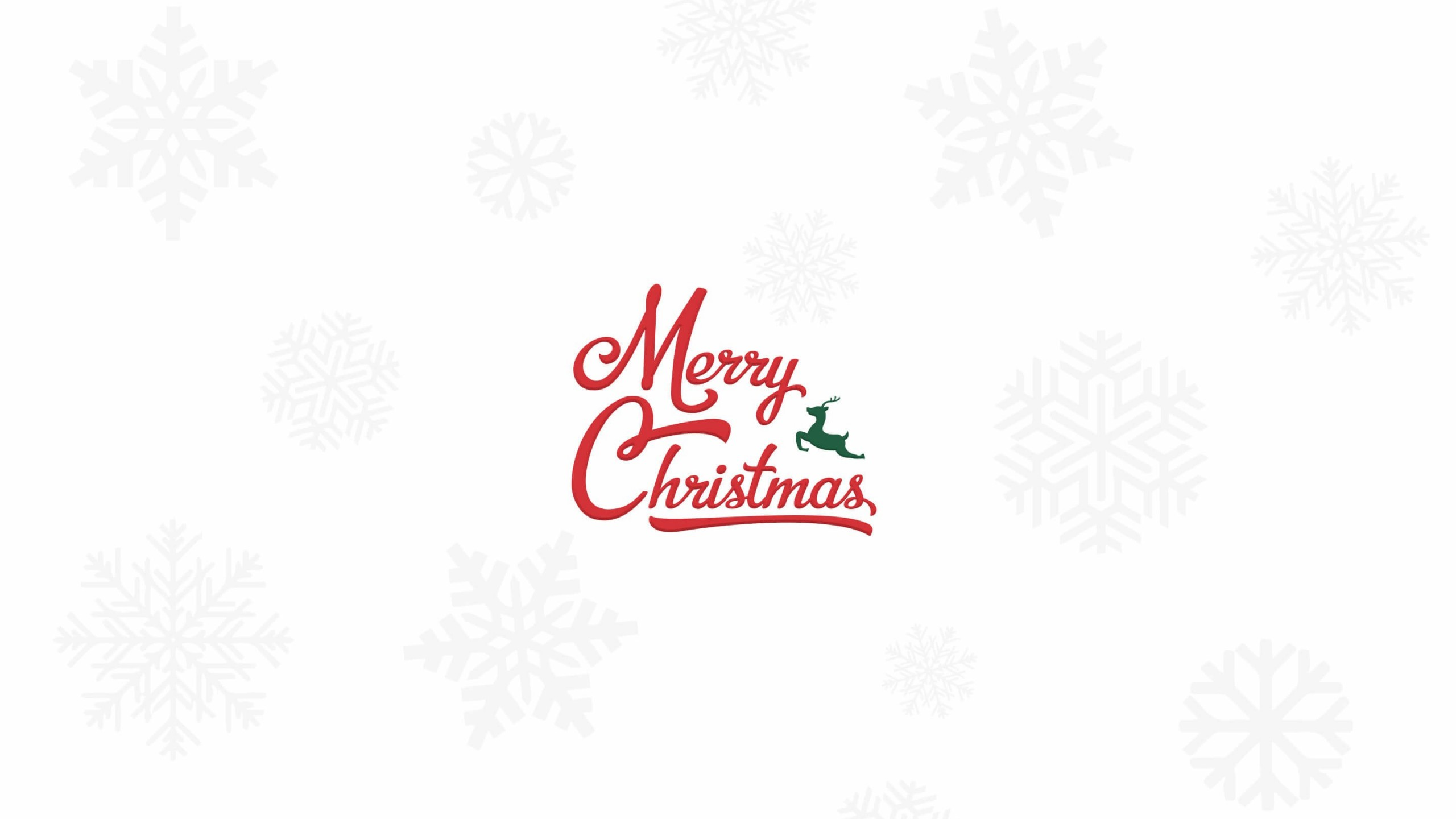 Merry Christmas Wallpaper for Social Media YouTube Channel Art