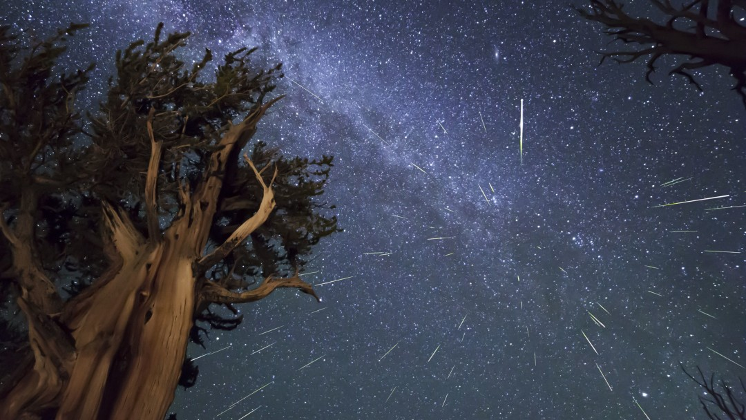 Meteor Shower Wallpaper for Social Media Google Plus Cover