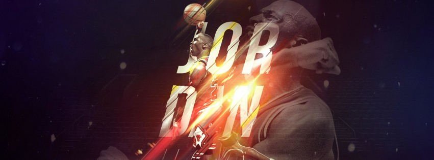Michael Jordan Wallpaper for Social Media Facebook Cover