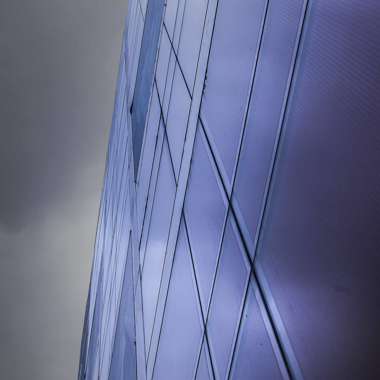 Modern Office Building Facade Wallpaper for Apple iPad mini