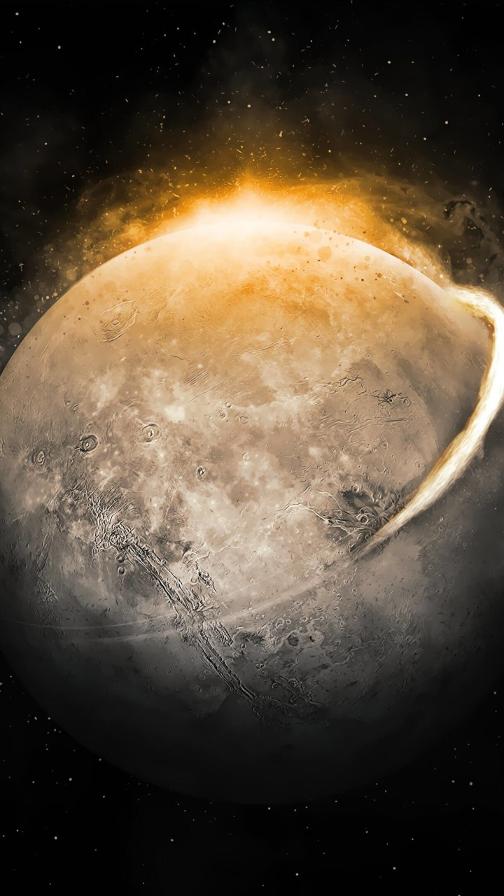 Moondust Wallpaper for Google Galaxy Nexus