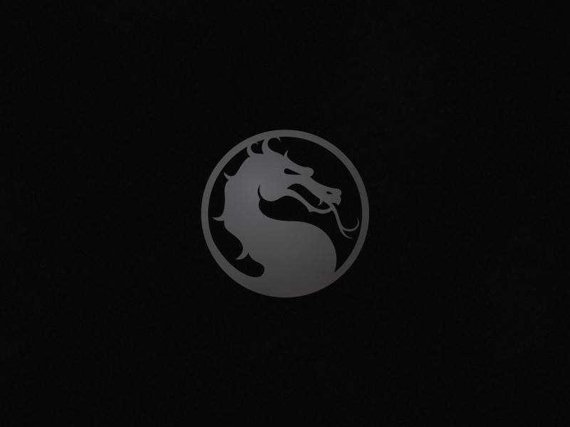 Mortal Kombat X Logo Wallpaper for Desktop 800x600