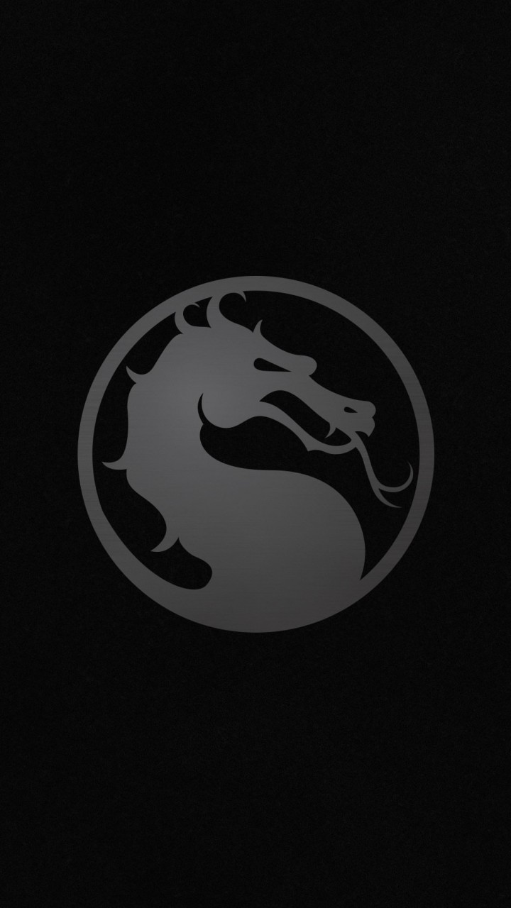 Mortal Kombat X Logo Wallpaper for SAMSUNG Galaxy S5 Mini