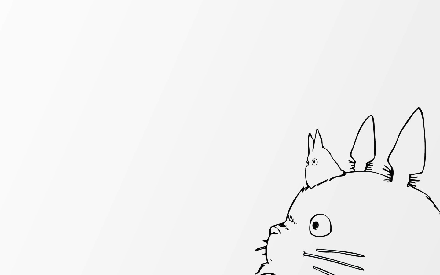 My Neighbor Totoro Wallpaper for Desktop 1440x900