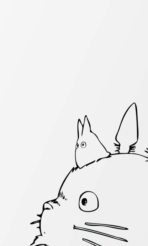 My Neighbor Totoro Wallpaper for HTC Desire HD