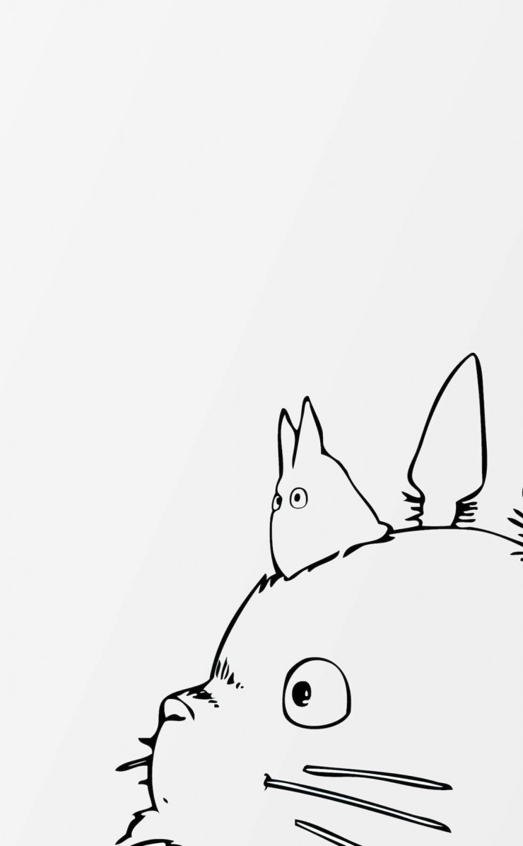My Neighbor Totoro Wallpaper for Apple iPhone 4 / 4s