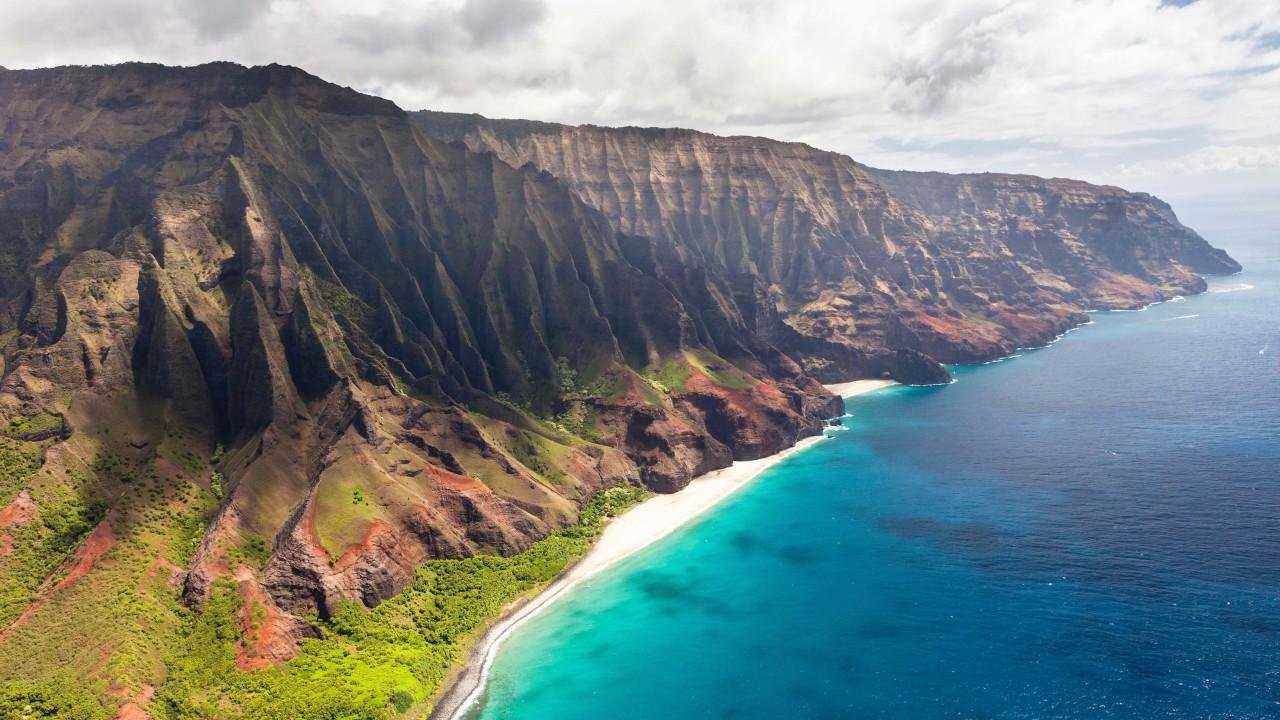 Download Na Pali Coast HD wallpaper for 1280 x 720 ...