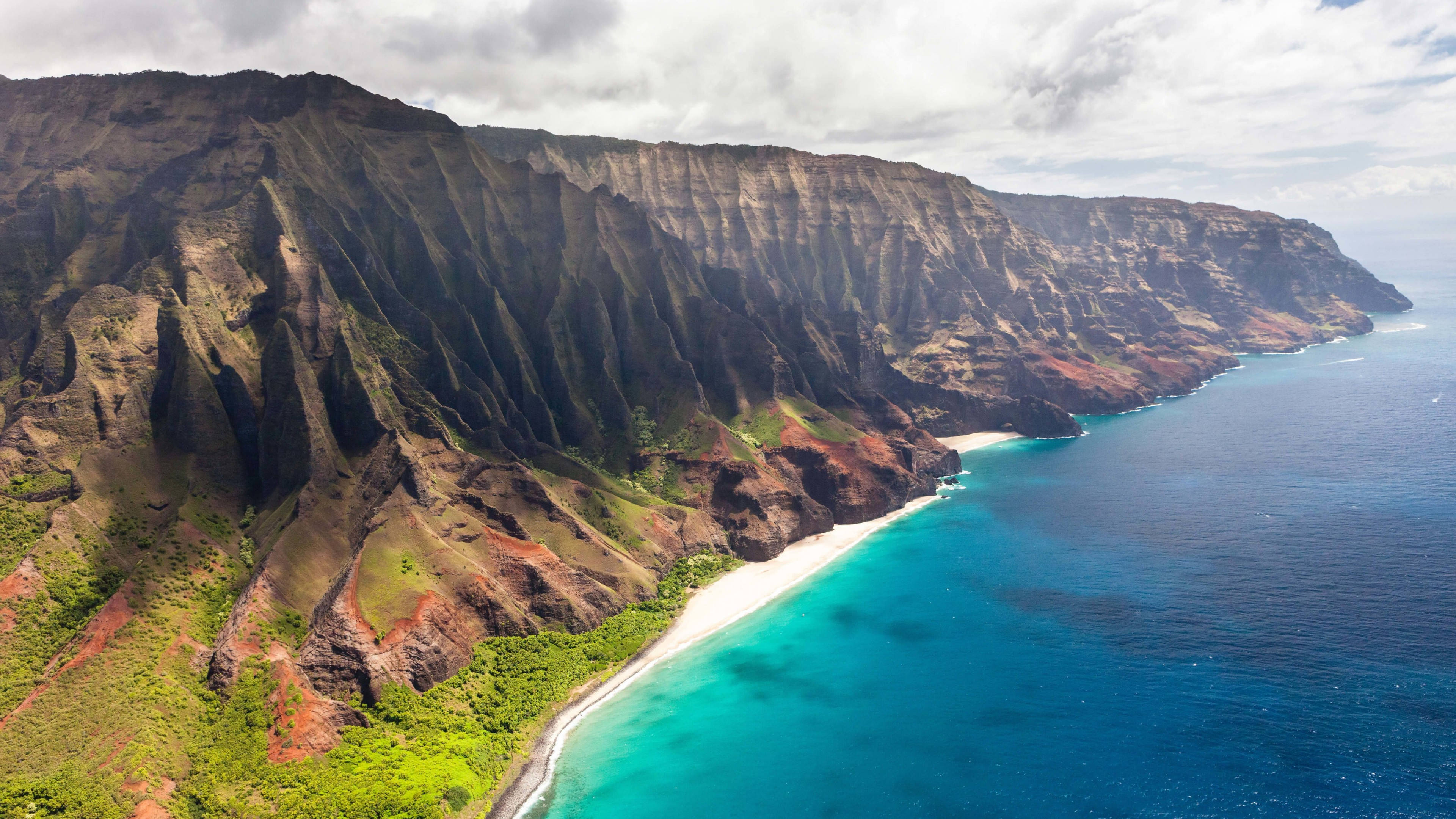 Na Pali Coast Wallpaper for Desktop 4K 3840x2160