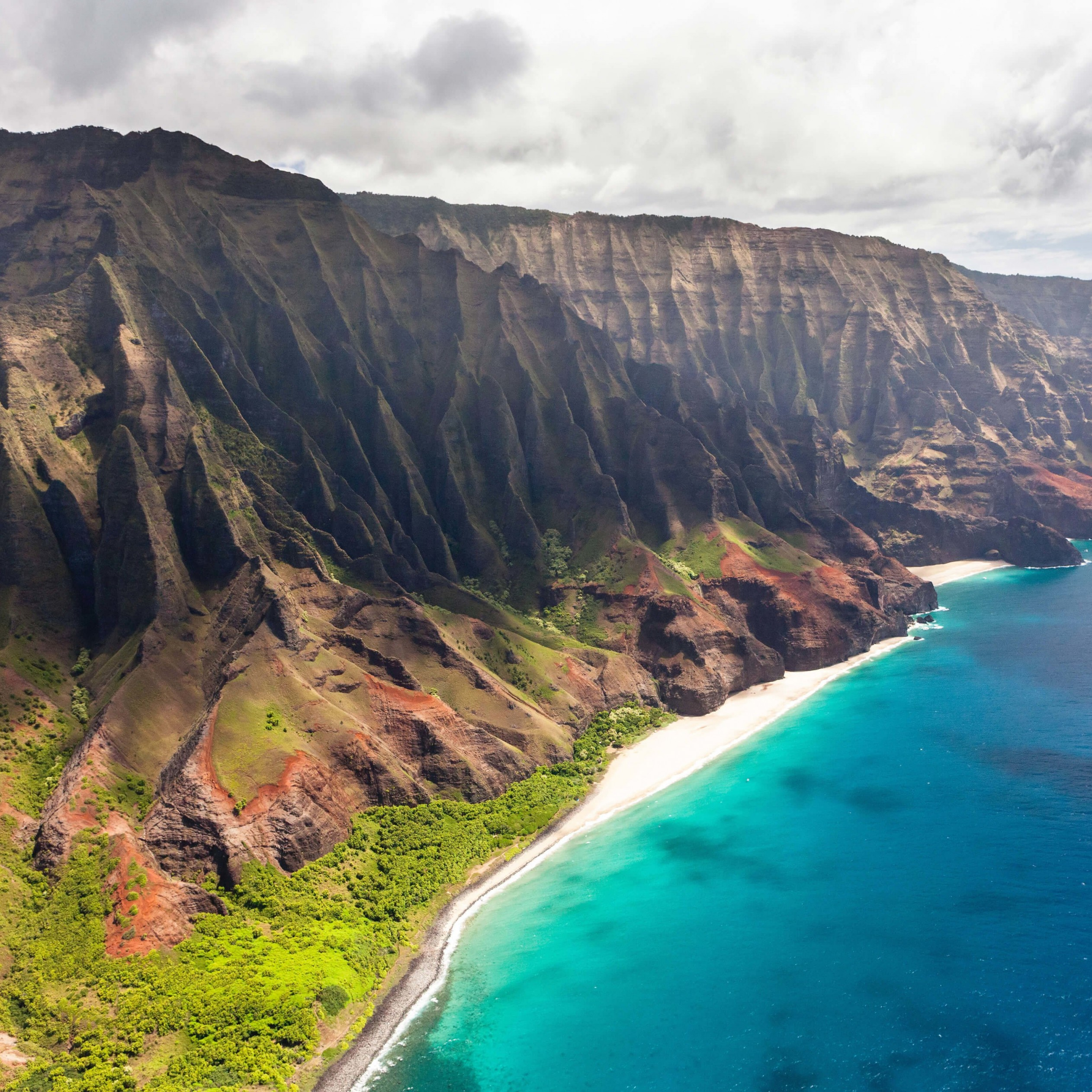 Na Pali Coast Wallpaper for Apple iPad 3
