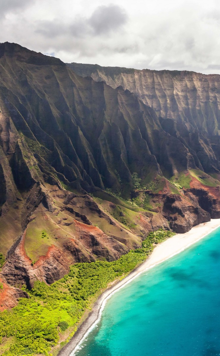 Na Pali Coast Wallpaper for Apple iPhone 4 / 4s