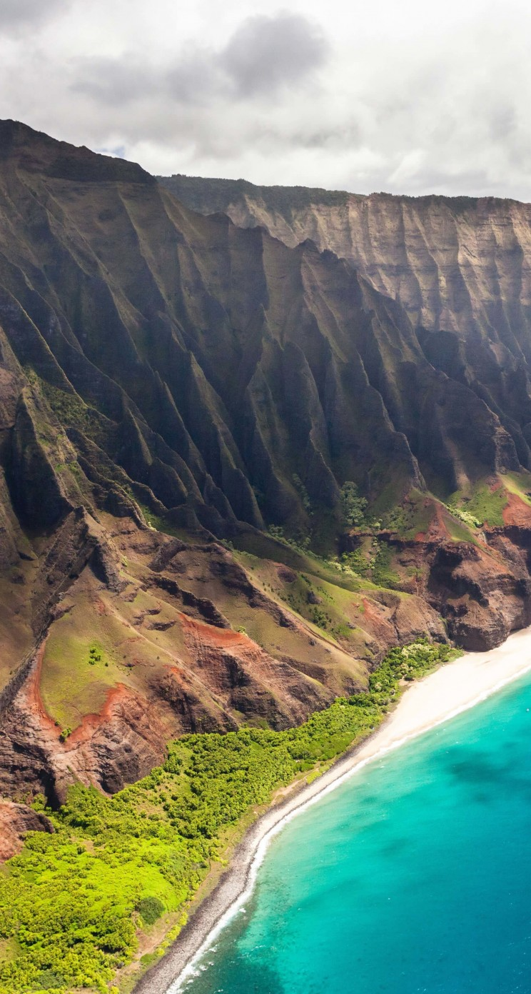 Na Pali Coast Wallpaper for Apple iPhone 5 / 5s