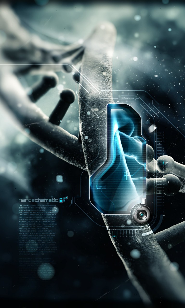 Nanotechnology Wallpaper for LG Optimus G