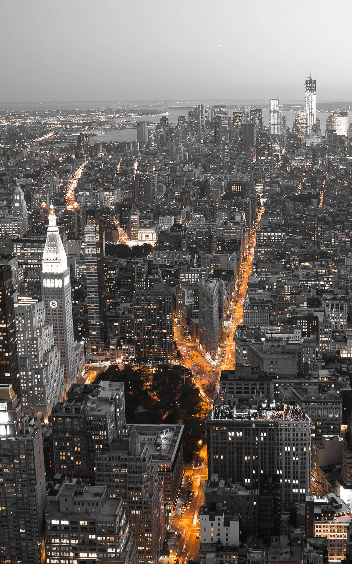 New York City by Night Wallpaper for Amazon Kindle Fire HDX