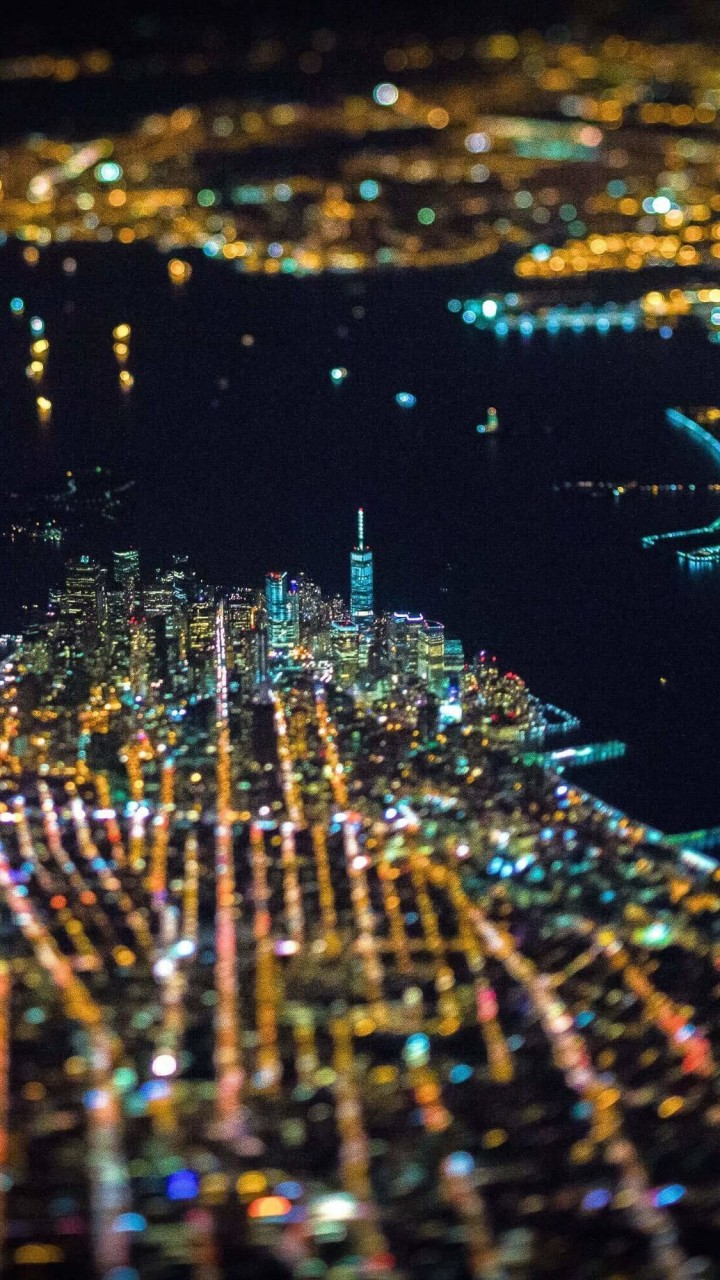 New York City From Above Wallpaper for Google Galaxy Nexus