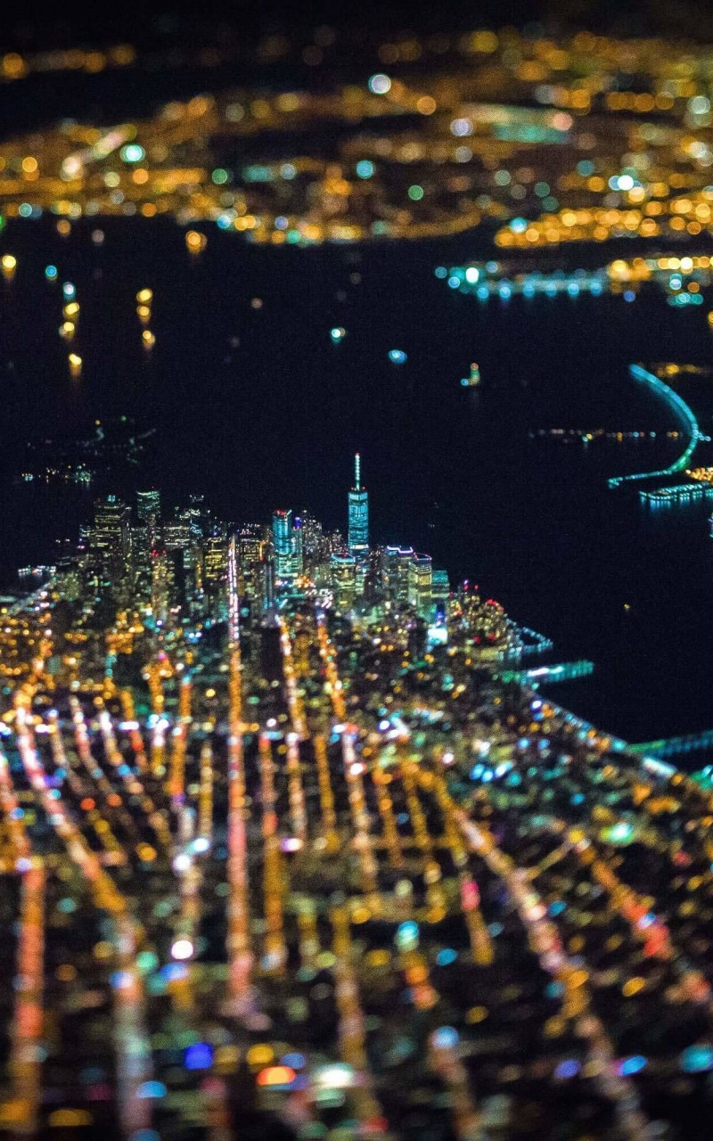 New York City From Above Wallpaper for Amazon Kindle Fire HD