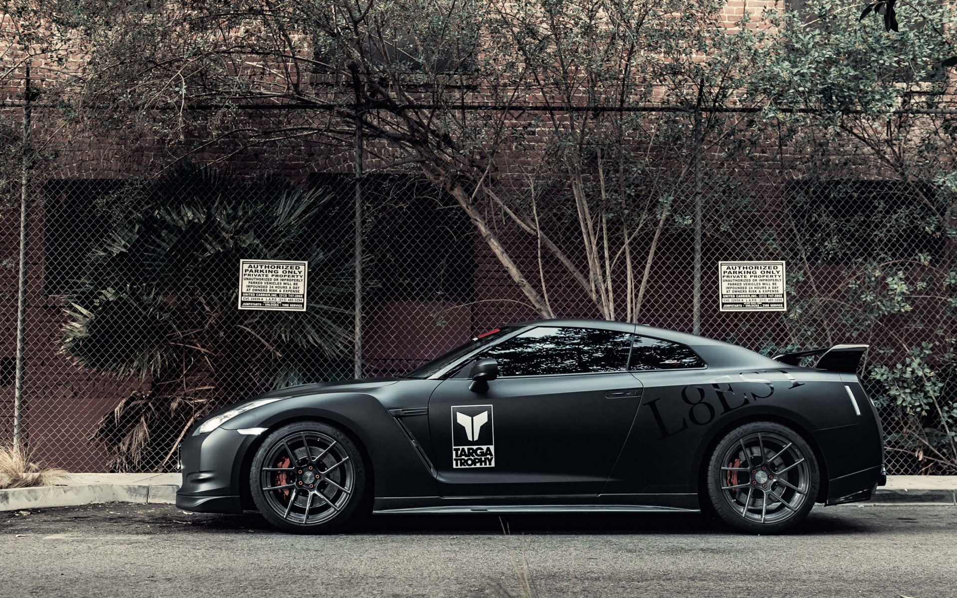 Download Nissan Gt R Black Edition Hd Wallpaper For 1920 X