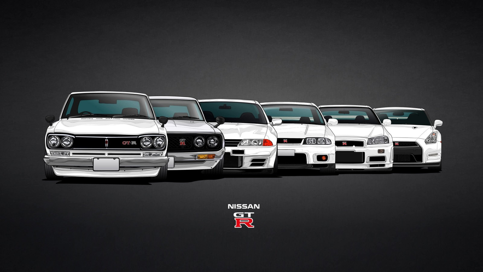 Nissan Skyline GT-R Evolution Wallpaper for Desktop 1600x900