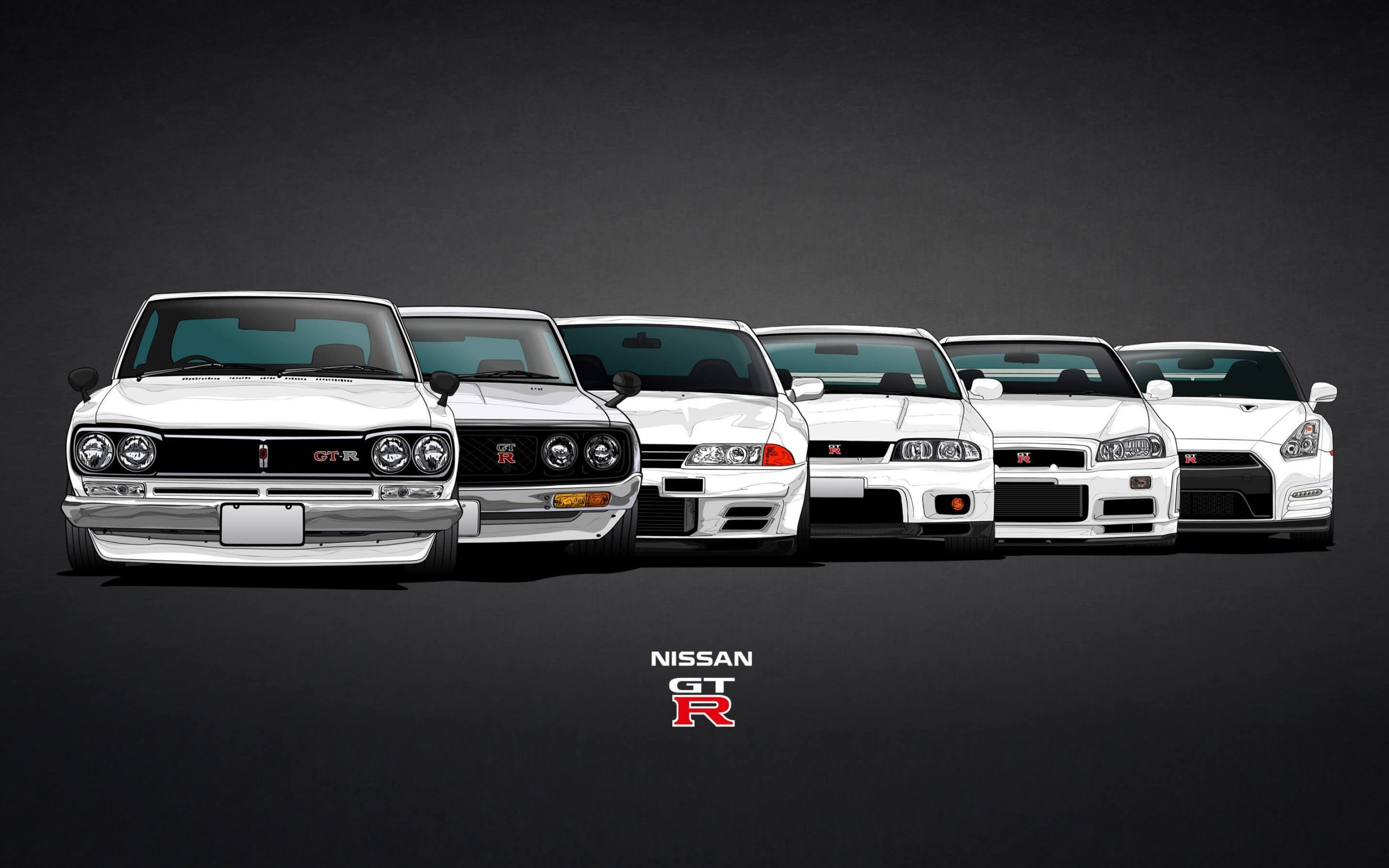 Nissan Skyline GT-R Evolution Wallpaper for Desktop 2560x1600