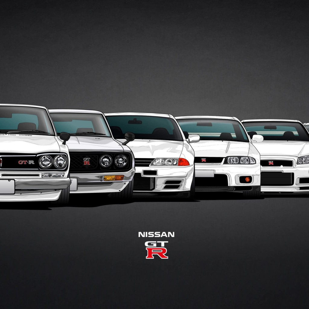 Nissan Skyline GT-R Evolution Wallpaper for Apple iPad