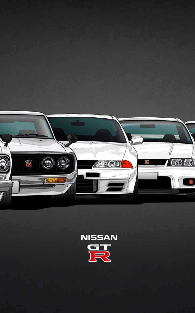 Nissan Skyline GT-R Evolution Wallpaper for Amazon Kindle Fire HD