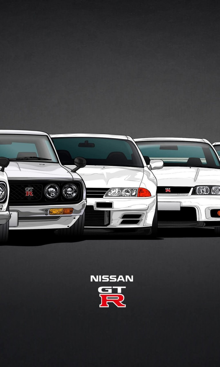 Nissan Skyline GT-R Evolution Wallpaper for LG Optimus G