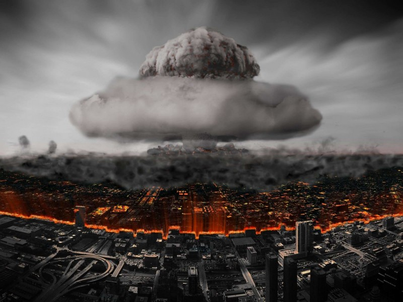 Nuclear Mushroom Cloud Wallpaper for Desktop 800x600