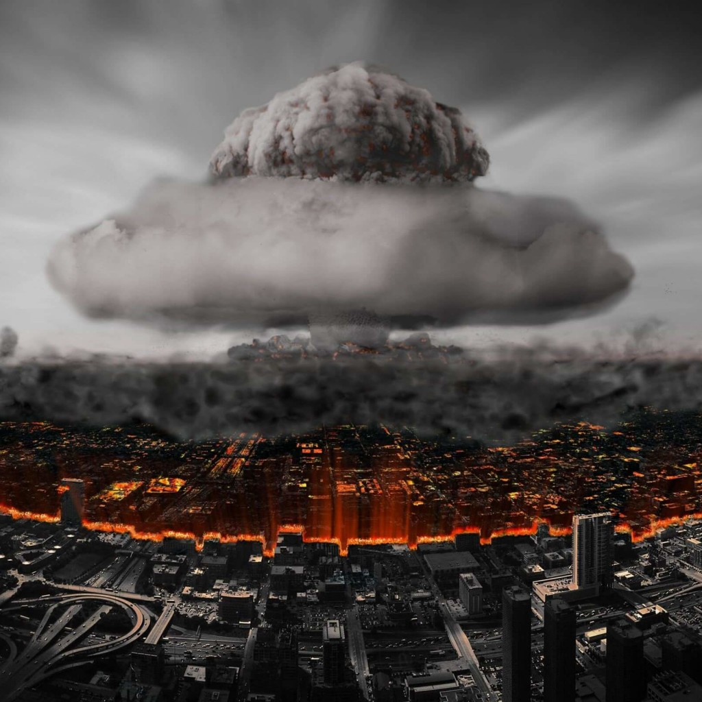 Nuclear Mushroom Cloud Wallpaper for Apple iPad 2