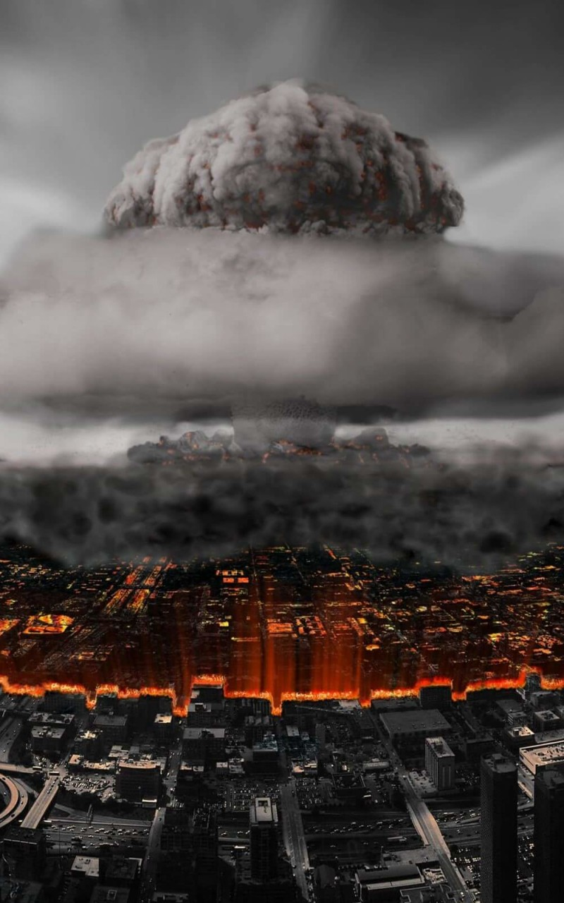 Nuclear Mushroom Cloud Wallpaper for Amazon Kindle Fire HD