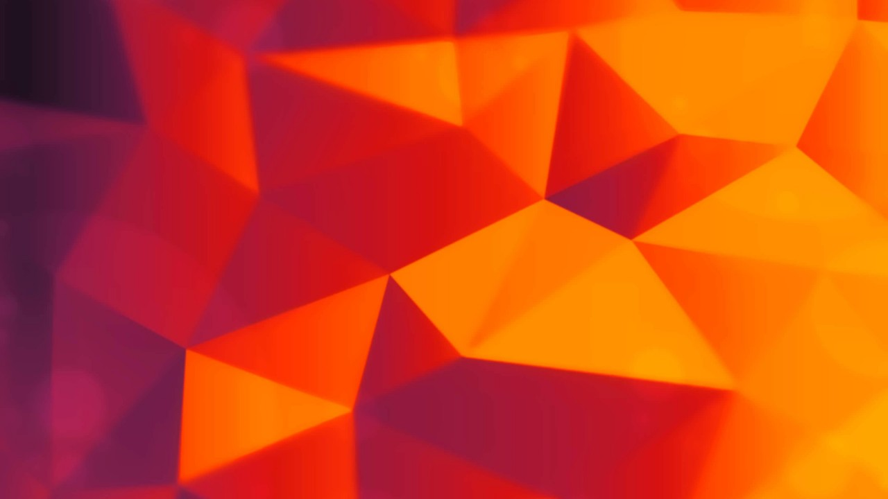 Orange Polygons Wallpaper for Desktop 1280x720