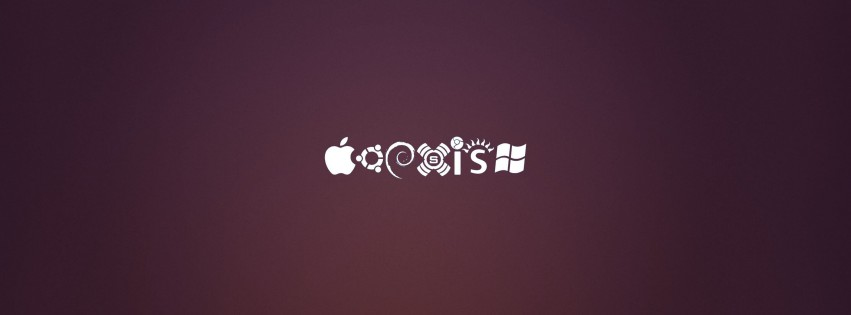 OS Coexist Wallpaper for Social Media Facebook Cover