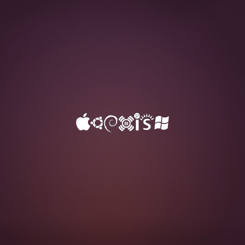 OS Coexist Wallpaper for Apple iPad