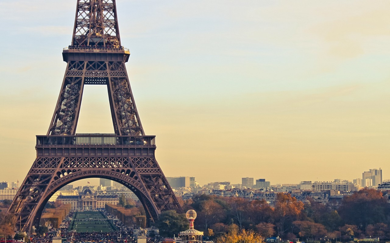 Paris Wallpaper for Desktop 1280x800