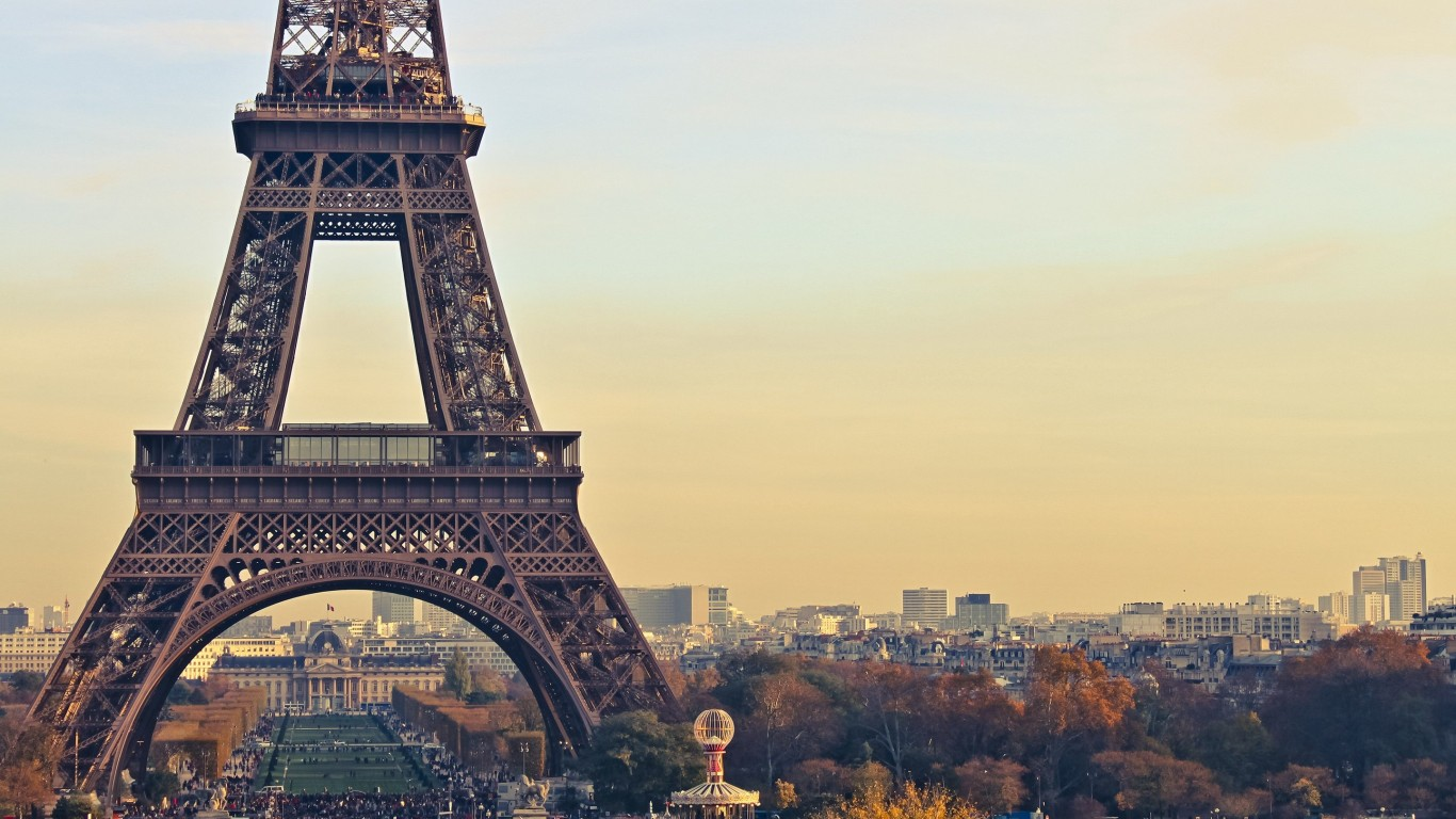 Paris Wallpaper for Desktop 1366x768