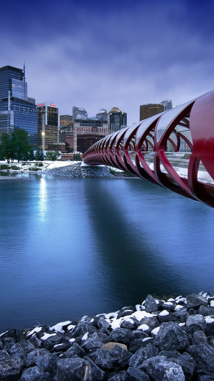 Peace Bridge Wallpaper for HTC One X