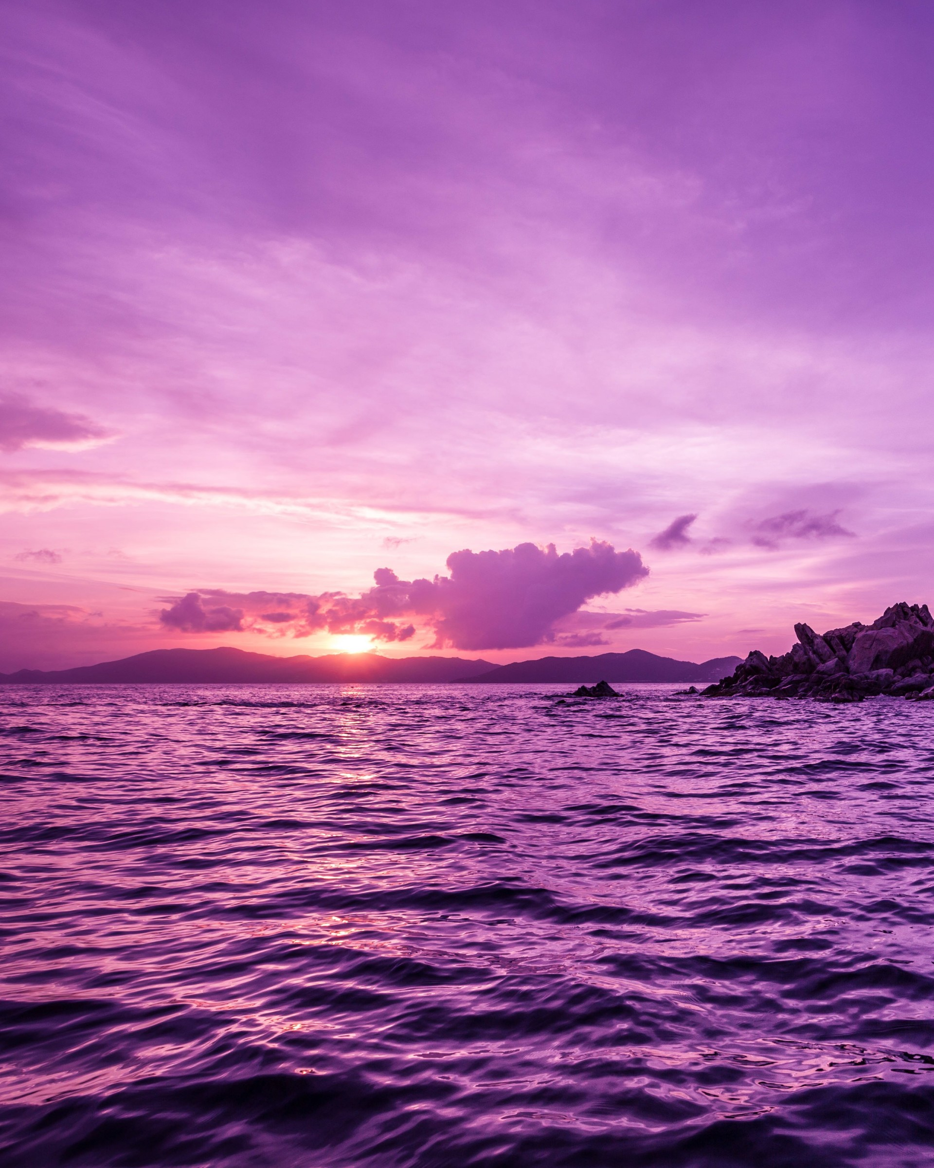 Pelican Island Sunset, British Virgin Islands Wallpaper for Google Nexus 7