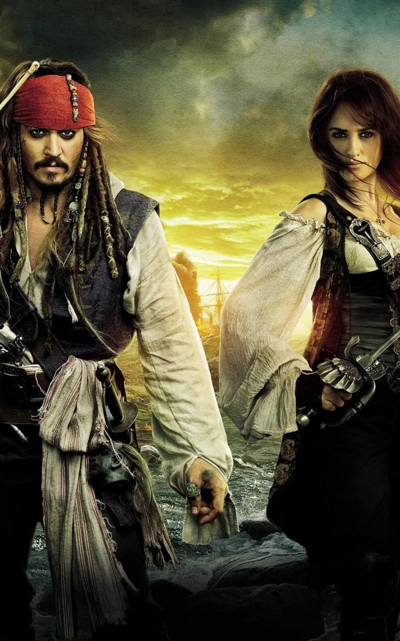 Pirates of the Caribbean: On Stranger Tides Characters Wallpaper for Amazon Kindle Fire HD