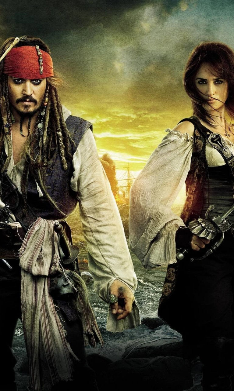 Pirates of the Caribbean: On Stranger Tides Characters Wallpaper for LG Optimus G