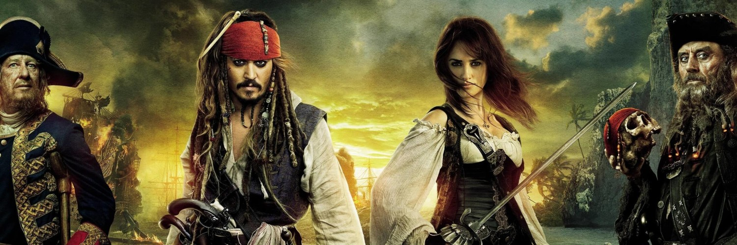 Pirates of the Caribbean: On Stranger Tides Characters Wallpaper for Social Media Twitter Header