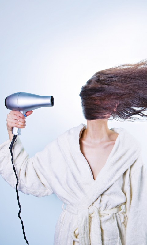Powerful Hair Dryer Wallpaper for SAMSUNG Galaxy S3 Mini