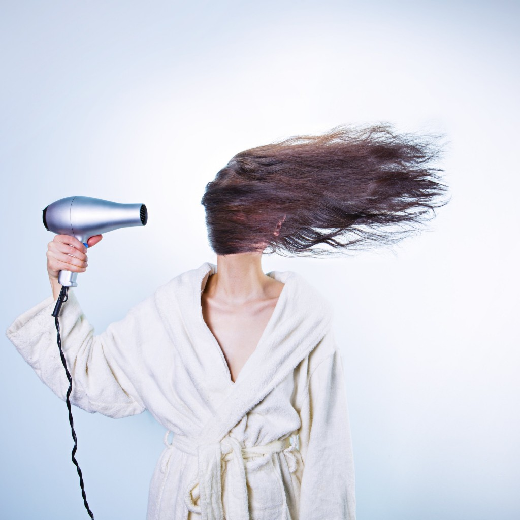 Powerful Hair Dryer Wallpaper for Apple iPad
