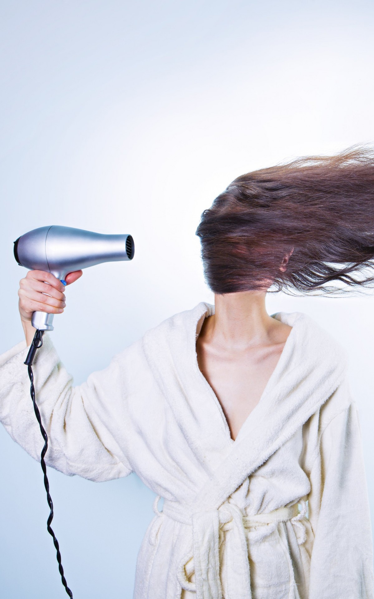 Powerful Hair Dryer Wallpaper for Amazon Kindle Fire HDX