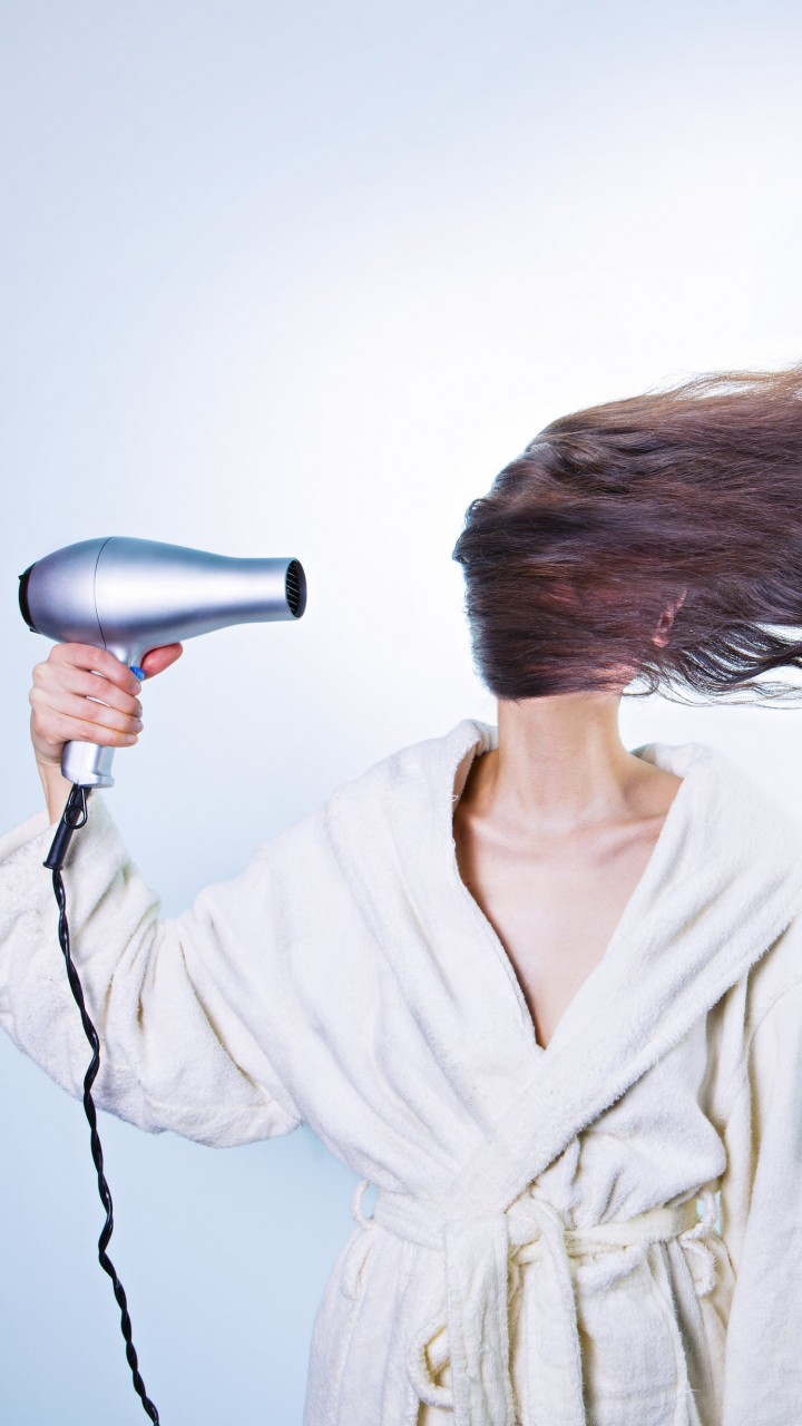 Powerful Hair Dryer Wallpaper for Xiaomi Redmi 2